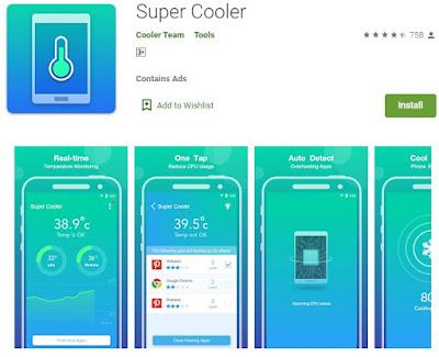 aplikasi pendingin hp android otomatis tanpa root - super cooler