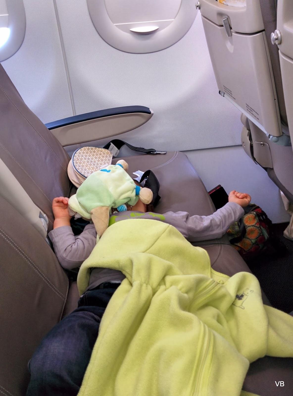 long voyage en avion avec bébé