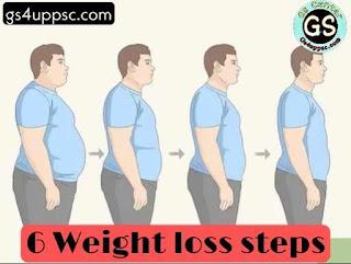 How to lose weight in 7 days   इन स्टेप्स को करके आप 7 दिनों में वजन कम कर सकते हैं   6 Weight lose steps in hindi