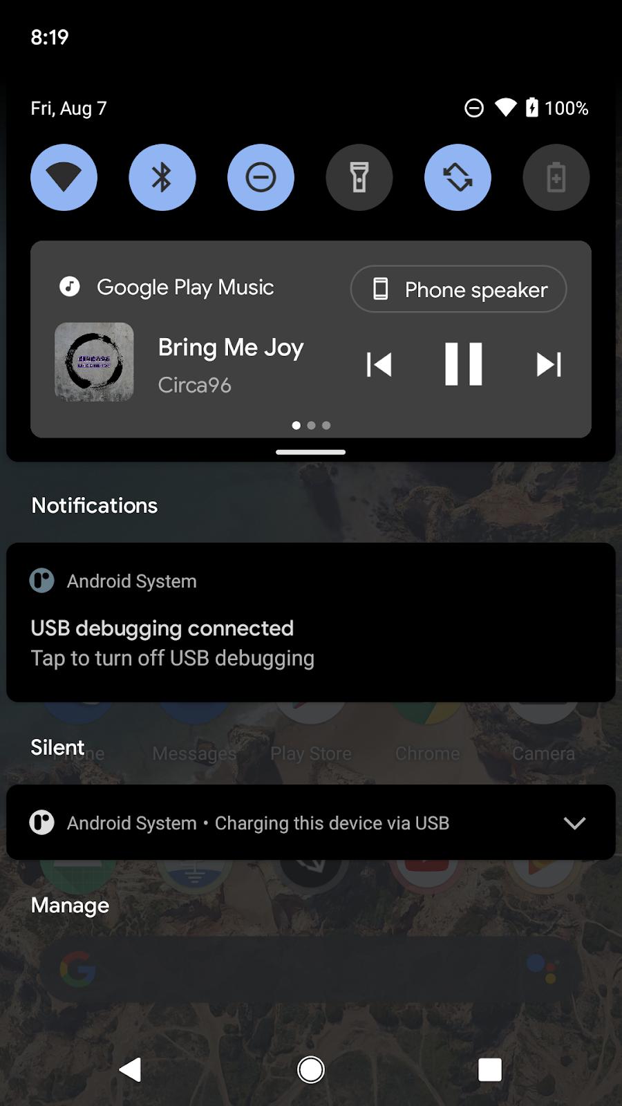 image of screen