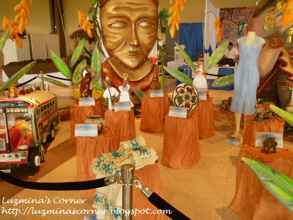 Luzmina 39 s corner feria nacional de artesan as 2012 ver - Artesania y decoracion ...
