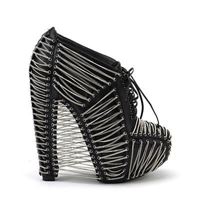 Iris van Herpen X United Nude Crystallization limited edition shoe