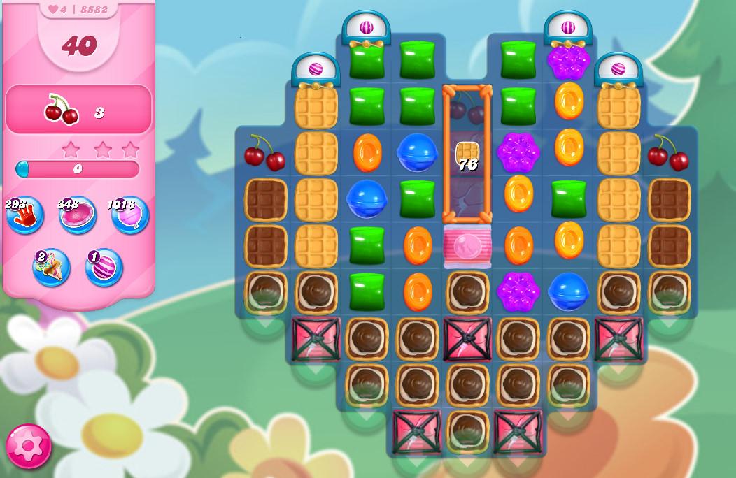 Candy Crush Saga level 8582