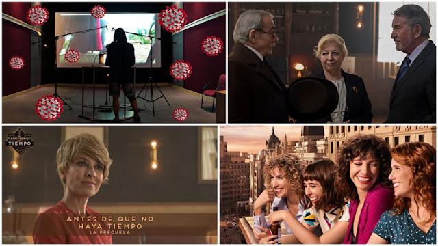 Antes de que no haya tiempo precuela de 'El Ministerio del Tiempo, trailer de 'Valeria', opinión sobre actores doblaje