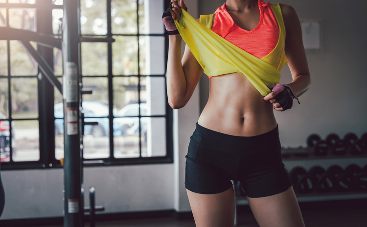 Magical exercises for a flat stomach