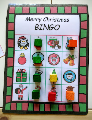 Christmas Bingo Game,
