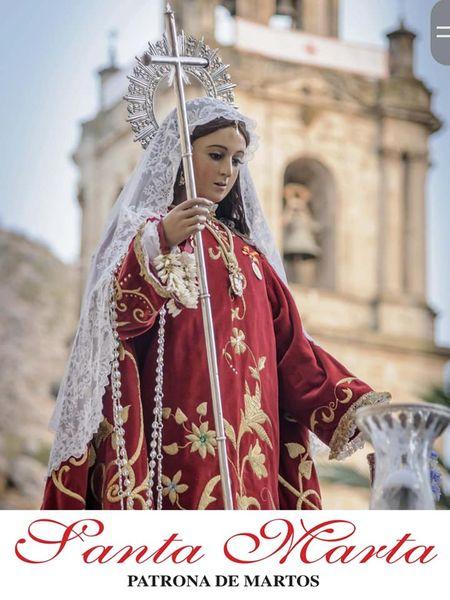 Cartel y Programa de las Fiestas de Santa Marta 2021, Patrona de Martos