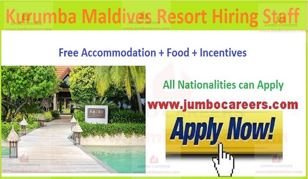 Accommodation jobs in Maldives,