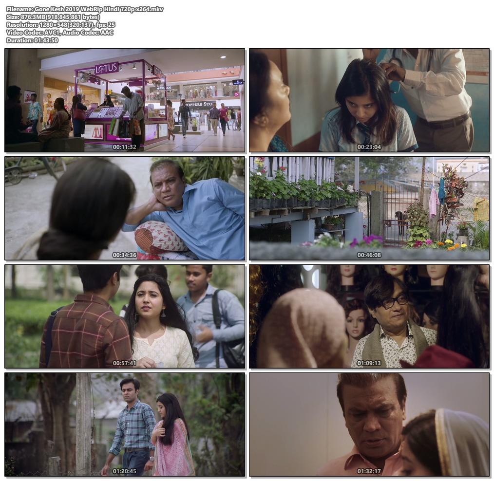 Gone Kesh 2019 WebRip Hindi 720p x264 | 480p 300MB | 100MB HEVC Screenshot