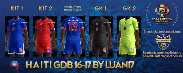 PES 2013 Haiti Kit Copa America 2016