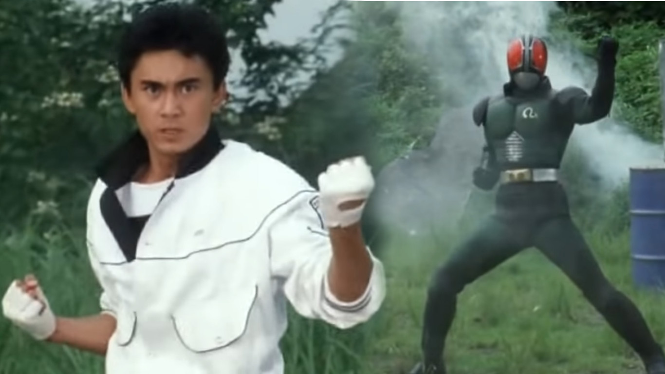 Kamen Rider Black RX was the inspiration of the American adaptation of Saban's Masked Rider