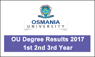 OU Degree Results 2017