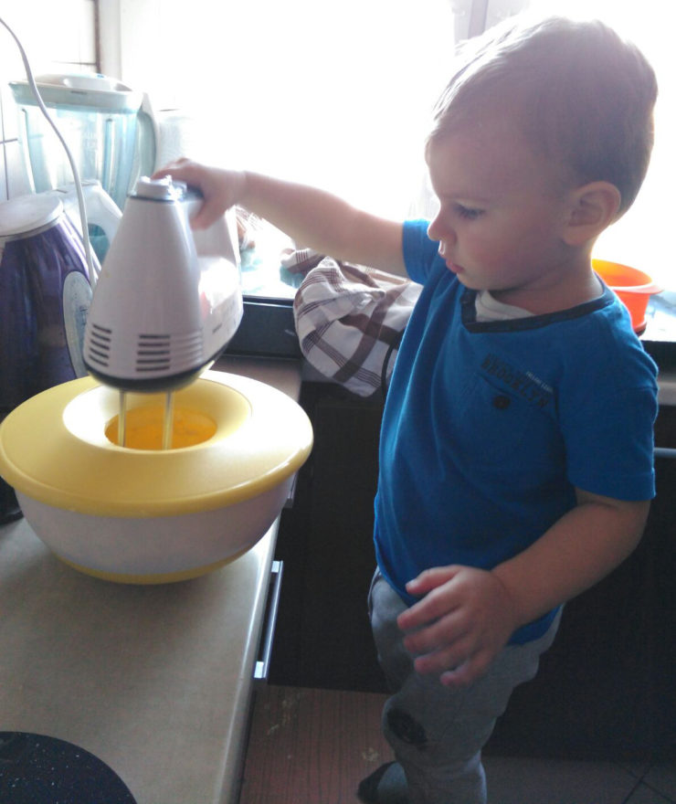 zabawa z dzieckiem gotowanie