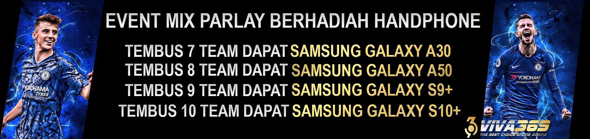 Mix Parlay berhadiah HP