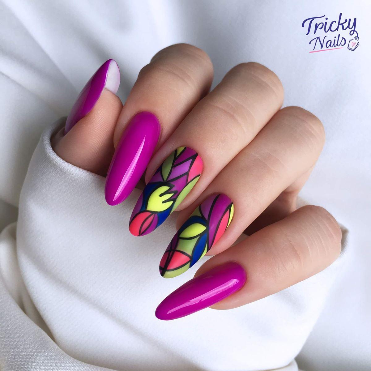 śliczne paznokcie