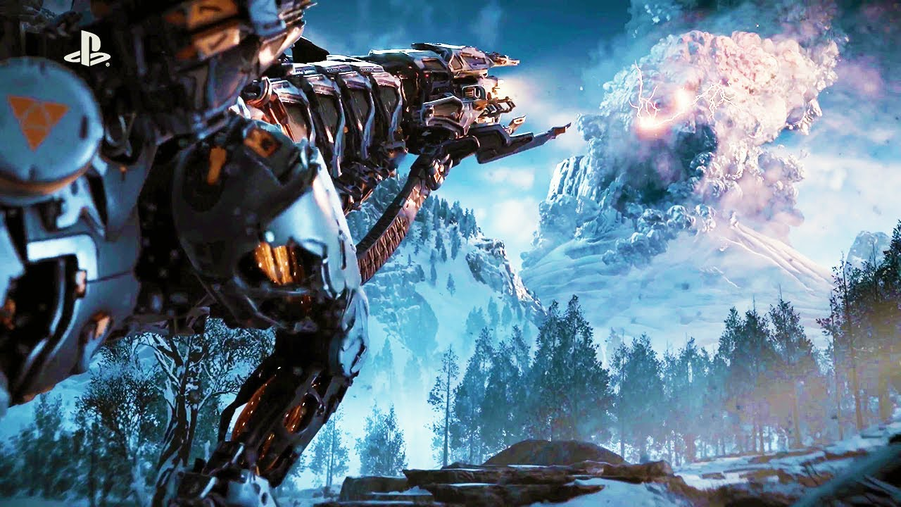 At Darrens World Of Entertainment Horizon Zero Dawn The Frozen Sony Playstation 4 Reg 3 Wilds Ps4 Review