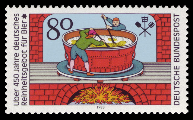 German beer law stamp