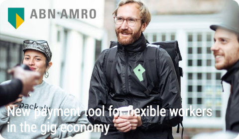 ABN AMRO – New payment tool for flexible workers in the gig economy