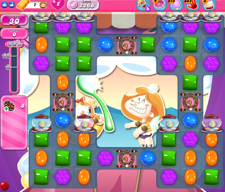 Candy Crush Saga level 2268