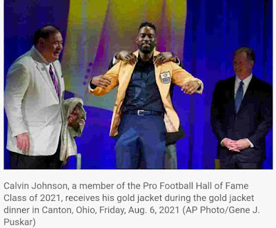 News Today   Hall Call: Dan Campbell has never seen anyone like Calvin Johnson