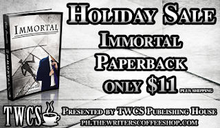 Book Blast: Immortal by Gene Doucette *Giveaway*