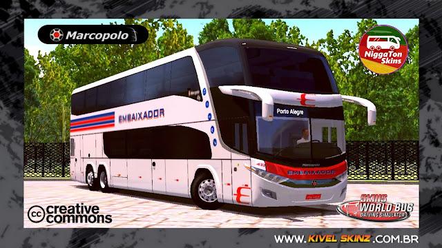 PARADISO G7 1800 DD 6X2 - VIAÇÃO EXPRESSO EMBAIXADOR