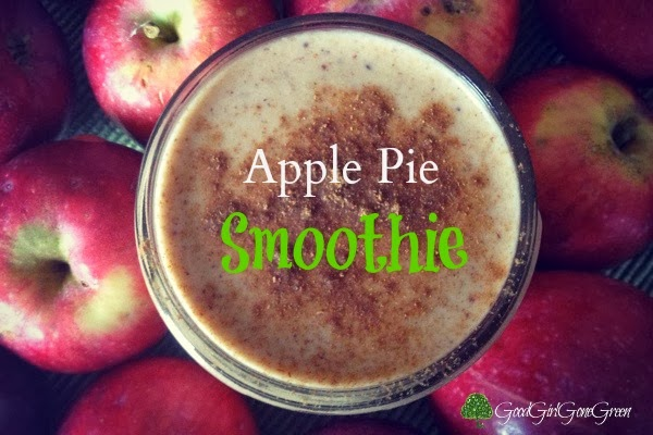 Fall Drink Recipes: Apple Pie Smoothie by Good Girl Gone Green