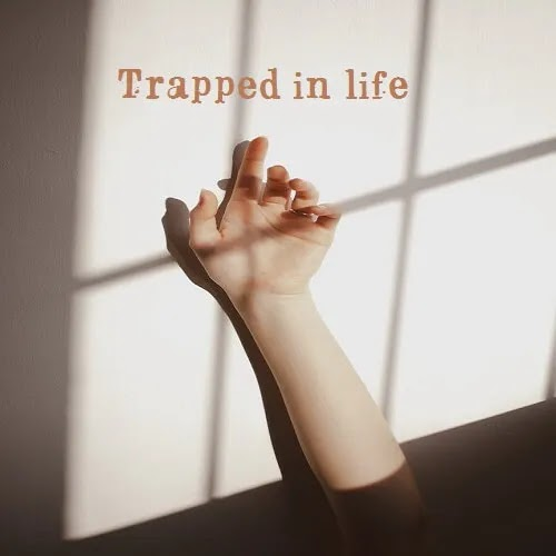 trapped in life sad DP for girls