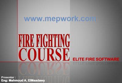 Elite Fire Course -  Firefighting Calculations Slide