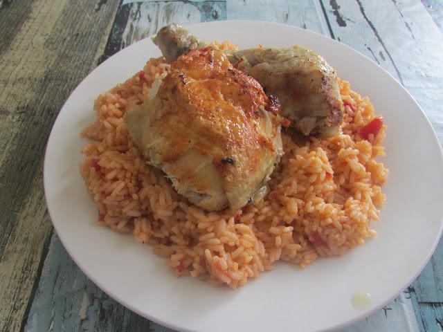 Tradycyjny pilaw z kurczakiem