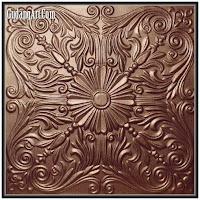 motif relief tembaga