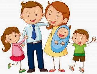 rima de la familia para niños
