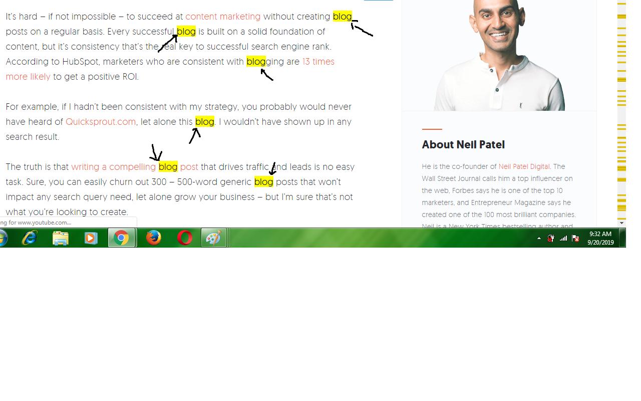 neil patel blog keyword density checker
