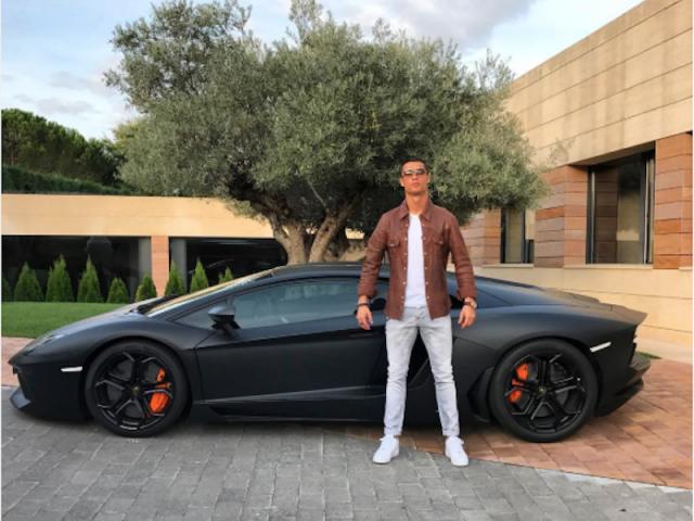 Cristiano Ronaldo New Car Price Cristiano Ronaldo Lamborghini Aventador
