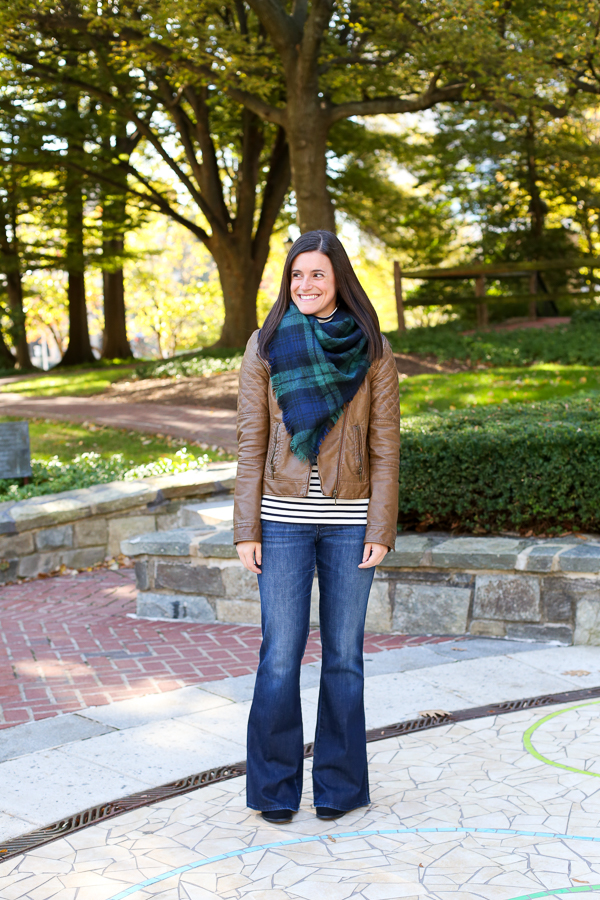 how to wear flare jeans for the fall, flare denim, fall outfit