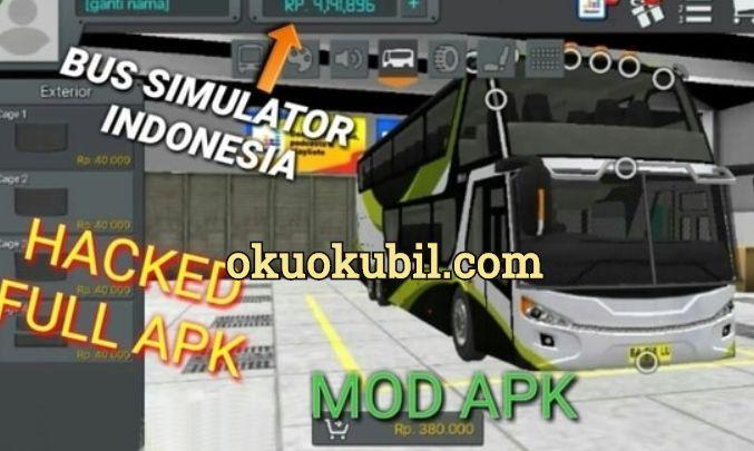 Bus Simulator Indonesia Sınırsız Para + Yakıt Hileli Mod Apk İndir 2020