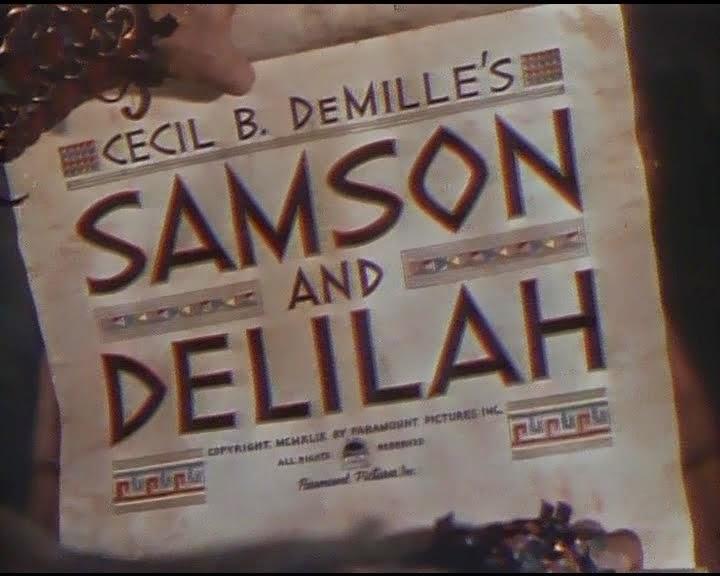 "low priced 1dea3 2ca70 Crítica de ""Sansón y Dalila"" (Cecil B. DeMille, 1949) por Iván Suárez  Martínez"