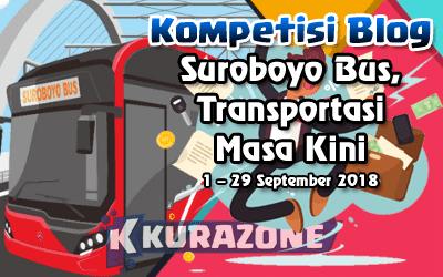 Kompetisi Blog - Suroboyo Bus Berhadiah Total Uang Tunai 3,5 Juta Rupiah