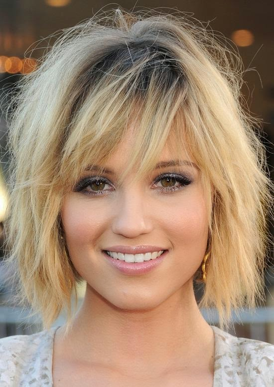 Celebrities With Choppy Bob Length Hairstyles Corinna B