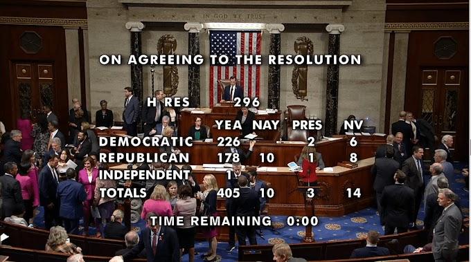 ΗΠΑ: Με συντριπτική πλειοψηφία η Βουλή αναγνώρισε τη γενοκτονία των Αρμενίων και υπερψήφισε κυρώσεις για τη Συρία