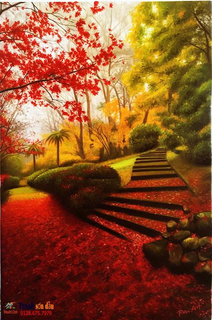 vẽ phong cảnh