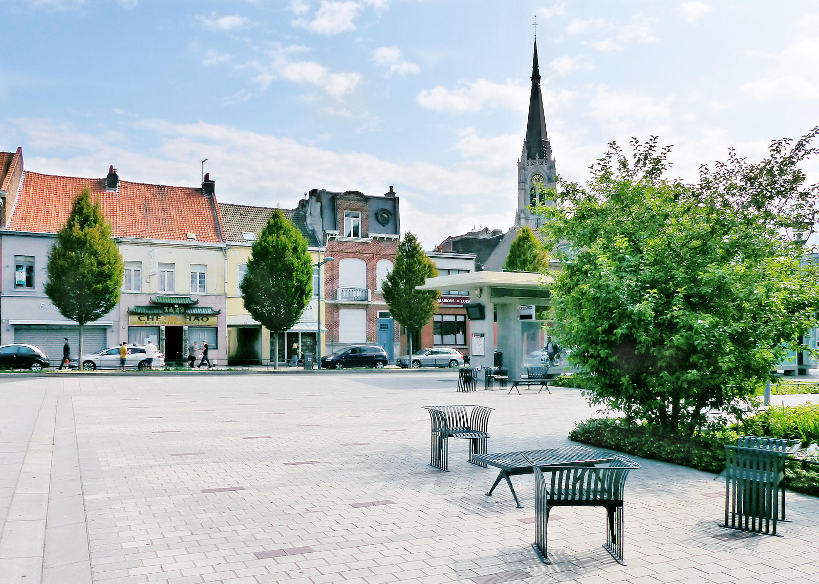 Place Charles et Albert Roussel, Tourcoing - Avocate Decupere-Cornil