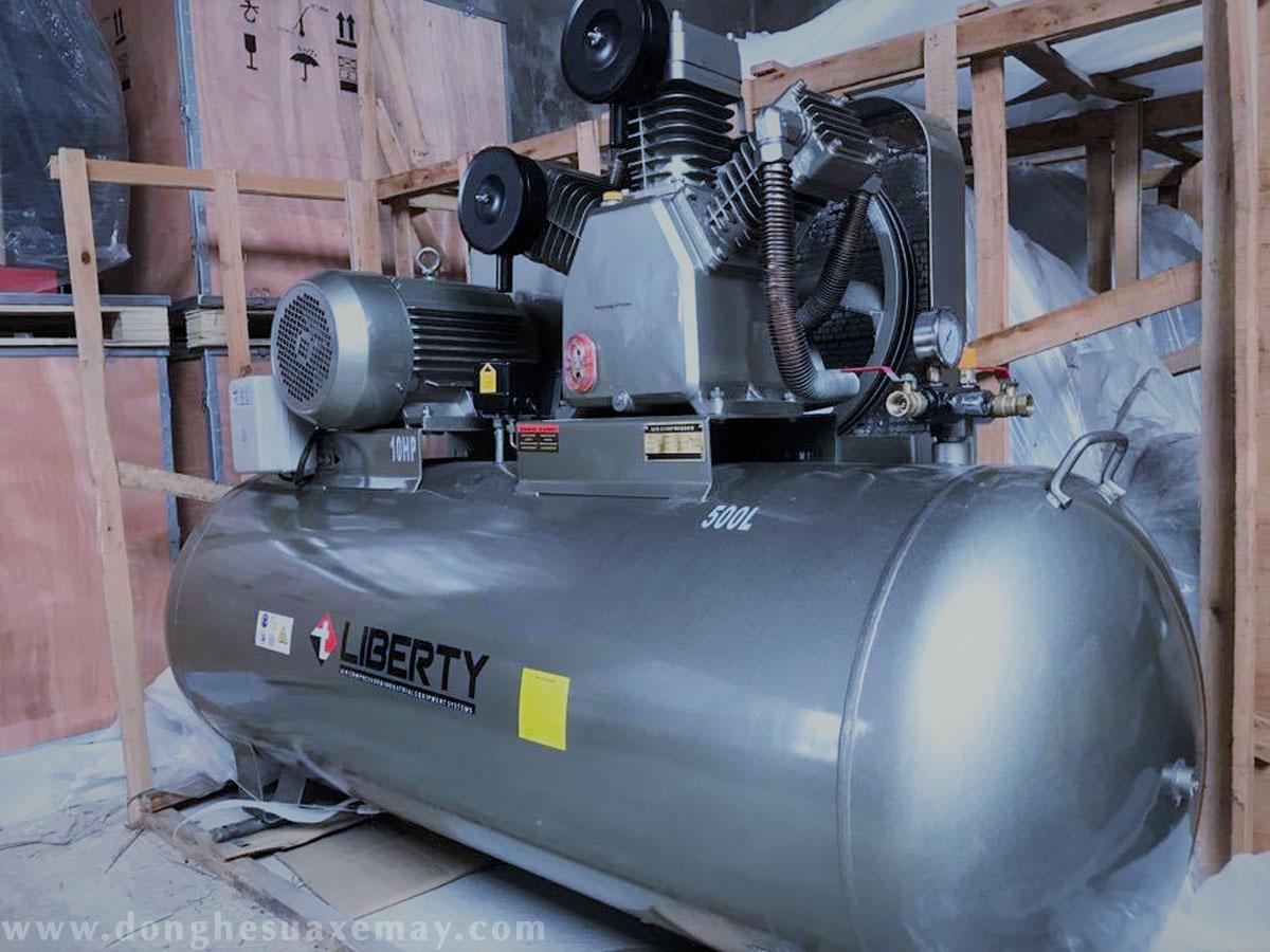 máy nén khí, máy bơm hơi, máy máy nén khí piston, máy nén khí giá rẻ, máy nén khí công nghiệp
