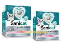 Logo Sanicat ''Festa del Papà'' : vinci gratis lettiera Sanicat Strong Clumps.