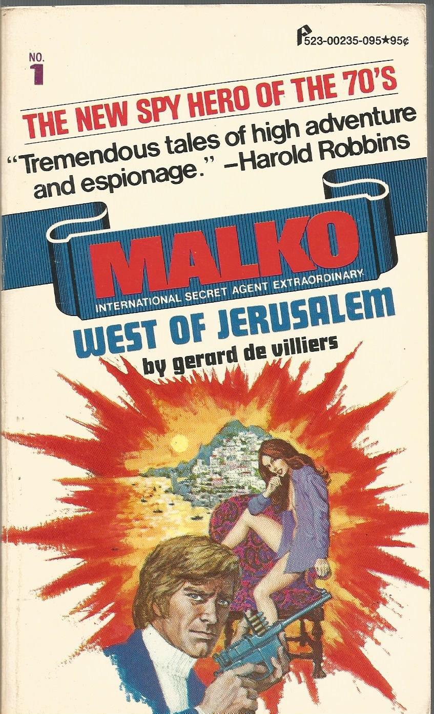 Paperback Warrior: Malko #01 - West of Jerusalem