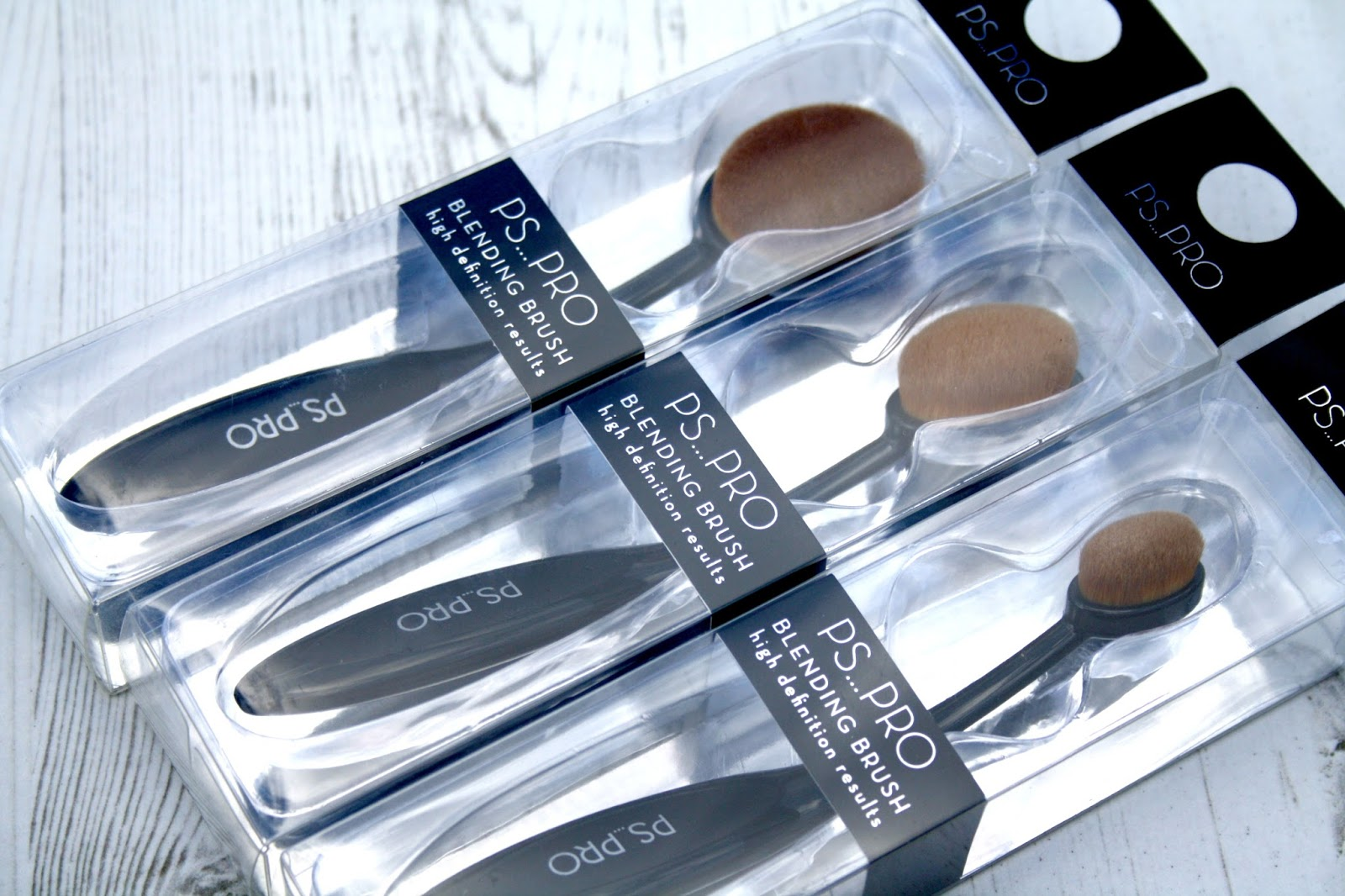 Beautyqueenuk Primark Ps Pro Oval Brushes