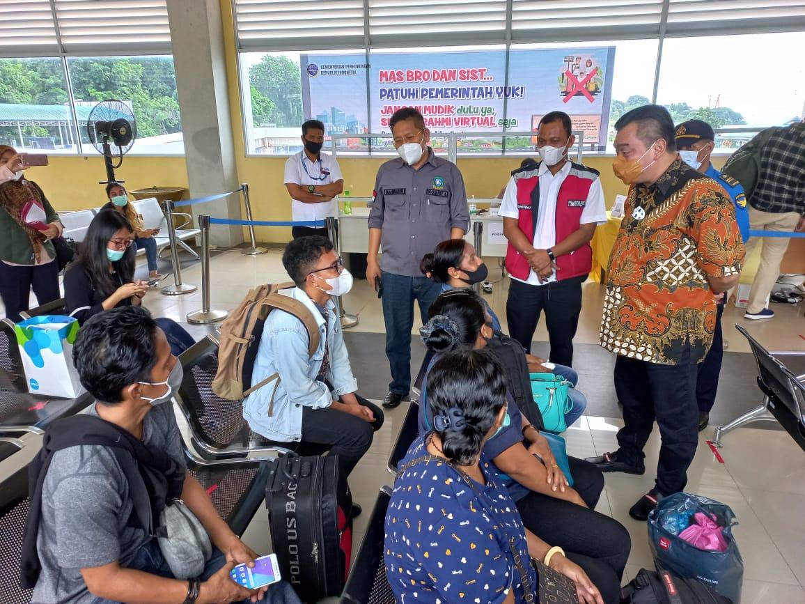 Komisi III DPRD Kepri Akui Penerapan Screening Genose C19 di Pelabuhan Domestik Telaga Punggur dan Pelabuhan ASDP Sudah Sangat Baik