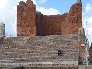 Capitolio de Ostia ANtiga