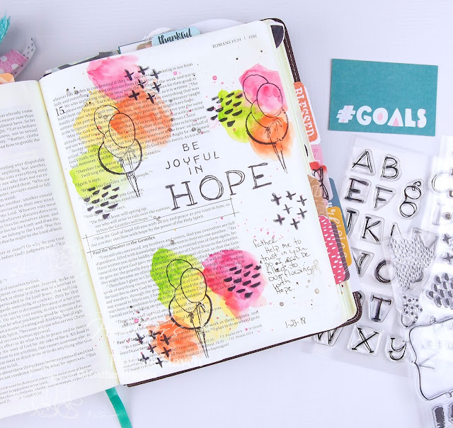 Heather's Hobbie Haven - Illustrated Faith Goals - Session 2