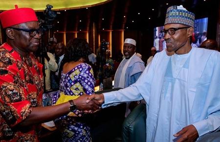 buhari meets fayose in aso rock